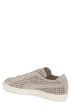 PUMA 'Suede Courtside' Perforated Sneaker (Men)