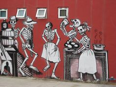 San Jose del Cabo, Mexico, wall mural-long since removed. 3d Street Art, Street Art Banksy, Amazing Street Art, Street Artists, San Jose Del Cabo, Best Graffiti, World Street, Mexican Art, Public Art