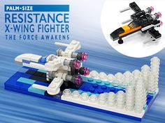 LEGO ideas「Attack on the Death Star」& Updates「RESISTANCE X-WING FIGHTER」 https://ideas.lego.com/projects/142068