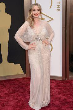Oscars 2014, Julie Delpy in Jenny Packham.