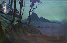 Nicholas Roerich - Chalice of Christ (1925)
