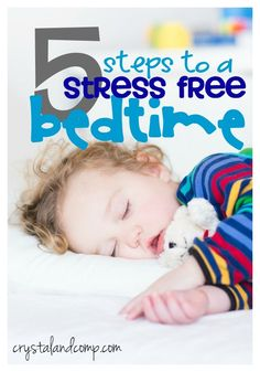 5 steps to a stress free child bedtime
