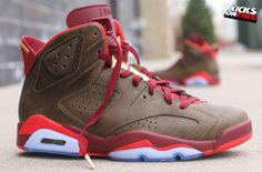 best service b8485 562ed shopping pre order 384664 250 air jordan 6 cigar raw umber team red 4a6d7  4a46e