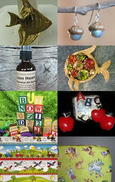 Things that begin with the letter A by Carol on Etsy--Pinned with TreasuryPin.com