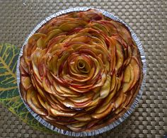 apple roses pie - Google Search
