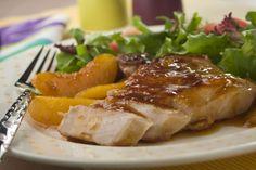 Peach Glazed Pork | MrFood.com