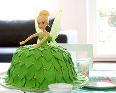 Wiesenknopfschreibselei: Tinkerbelltorte für kleine Prinzessinnen