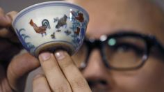 Chinese cup sells for a record-breaking $36 million