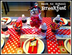 Marci Coombs: Back to School BREAKFAST.