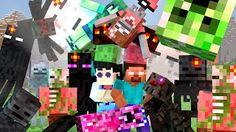 Minecraft Monster School Girls vs Boys Challenges Life - YouTube