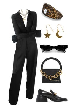A fashion look from October 2017 featuring cocktail pants, chunky heel loafers and chain purse. Browse and shop related looks. Kpop Fashion Outfits, Stage Outfits, Mode Outfits, Glee Fashion, Look Fashion, Korean Fashion, Womens Fashion, Cute Casual Outfits, Stylish Outfits