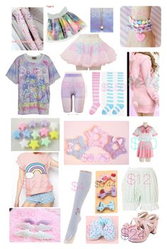 """☆ fairy kei ☆"" by gonzaloqroz ❤ liked on Polyvore featuring Bodyline, Retrò and fairykei"