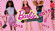new barbie collection 2015 | Coleção Barbie Fashionistas 2015 - Novas Bonecas