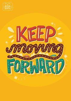 Keep Moving Forward - Risa Rodil