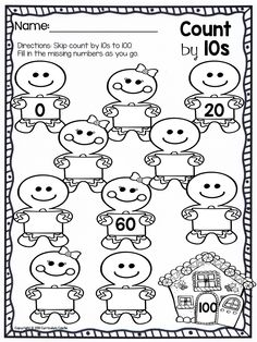 More Skip Counting Worksheets Count by Skip Counting by 2 Worksheet Most Popular Preschool and Kindergarten Worksheets. Kindergarten Worksheets, Kindergarten Activities, Teaching Math, Nursery Worksheets, Preschool Writing, Learning Activities, Math For Kids, Fun Math, Maths