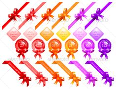 VECTOR DOWNLOAD (.ai, .psd) :: http://jquery-css.de/pinterest-itmid-1000047799i.html ... web ribbons ...  clean, decorative, knot, magenta, offer, orange, pink, promotion, red, ribbon, sale, seal, star, violet, yellow  ... Vectors Graphics Design Illustration Isolated Vector Templates Textures Stock Business Realistic eCommerce Wordpress Infographics Element Print Webdesign ... DOWNLOAD :: http://jquery-css.de/pinterest-itmid-1000047799i.html