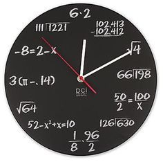 saw this clock at therapy in sf and loved it. happy pi day!