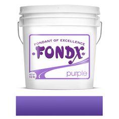 FondX Rolled Fondant 10lb - Purple