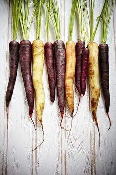 I believe these are heirloom carrots. The most delicious carrots I have ever had.