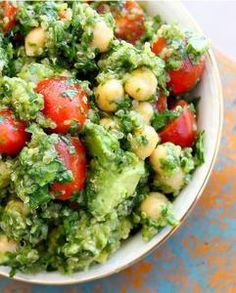 Lemon Quinoa Cilantro Chickpea Salad - follow this link if others do not work