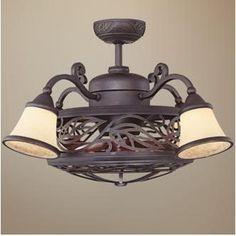 30 Savoy House Fan D'lier Antique Copper Ceiling Fan