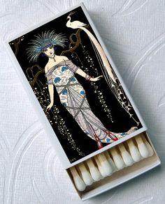 1920s Evening Gala French Soirée Art Deco by goddessglass10359, $6.00