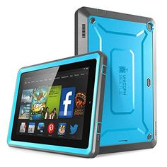 Fire HD 6 Case, SUPCASE [Heavy Duty] Amazon Fire HD 6 Case (4th Generation) 2014 Release [Unicorn Beetle PRO Series] Full-body Rugged Hybrid Protective Case Cover with Built-in Screen Protector for Amazon Fire HD 6 (4th Generation), Blue/Black - Dual Layer Design + Impact Resistant Bumper Supcase http://www.amazon.com/dp/B00NR6KVDK/ref=cm_sw_r_pi_dp_eaVwub1YYAW28