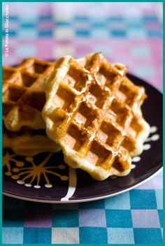 Una delle cose più buone (fra le tante!) che ho assaggiato nel mio piccolo viaggio in terra belga sono le gauffre, o waffle per intendersi.