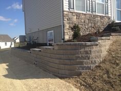 Block Retaining Wall Hardscape & Landscape York, PA Ryan's Landscaping, PA - East in Pennsylvania