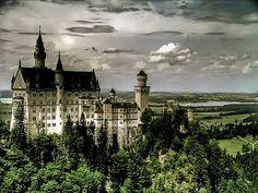 Schloss Neuschwanstein. Baviera. German