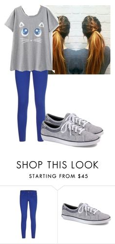 """""""Yay!"""" by flashinglights-397 on Polyvore featuring Comptoir Des Cotonniers and Keds"""