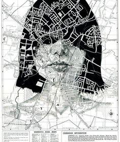 Map portraits by Ed Fairburn