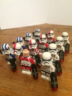 Clonetrooper Stormtrooper Lego star wars