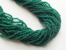 WHOLESALE 5 Strands Green Aventurine Round Beads by gemsforjewels