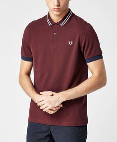 Fred Perry Bomber Collar Polo Shirt - The Brand Authority, scotts Menswear, brings you the latest clothing, footwear and accessories from top menswear brands.