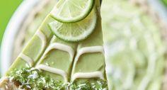 Dessert végétalien, citron vert.