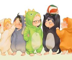 Karasuno first years Haikyuu Kageyama, Manga Haikyuu, Haikyuu Fanart, Manga Anime, Kagehina, Haikyuu Ships, Hinata, Cute Anime Chibi, Cute Anime Guys