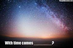A question that makes you think is worth asking. So we ask one new thought-provoking question every day. Asking The Right Questions, Life Questions, Direct Sales Games, Night Photography, Thought Provoking, Good People, Shout Out, Northern Lights, Things To Do