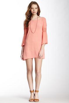 Blu Pepper Crochet Trim Dress by Assorted on @HauteLook