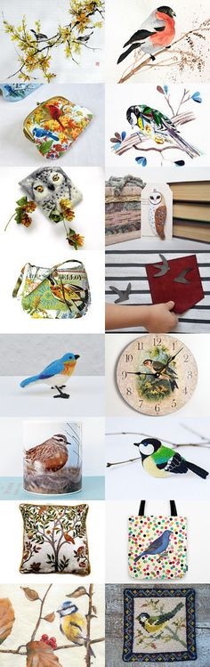 birds by styledonna on Etsy--Pinned with TreasuryPin.com