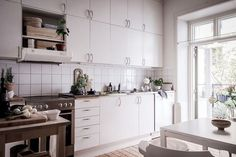 Inspiration from a lovely Swedish home in white