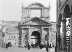 Porta Maggiore vista dall'interno. Archivio Fotografico Cineteca di Bologna