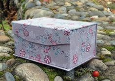 Jewelry box Floral Fabric Cartonnage Hand от ElenaBeautifulWorld