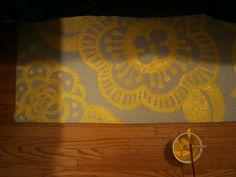 painted rug