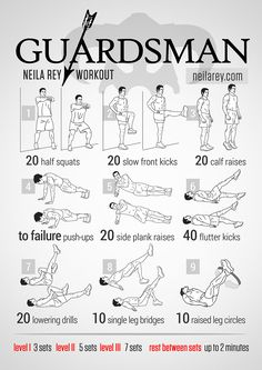 Guardsman Workout / Knee strengthening and recovery workout