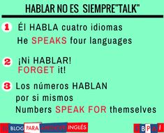 The Five Best Reasons to Learn Another Language - The Little Language Site Spanish Sentences, Spanish Phrases, Spanish Vocabulary, English Phrases, Spanish Language Learning, English Grammar, Spanish Notes, Spanish English, English Class