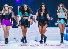 Little mix today at capital's summertime ball at Wembley stadium 06.06.15
