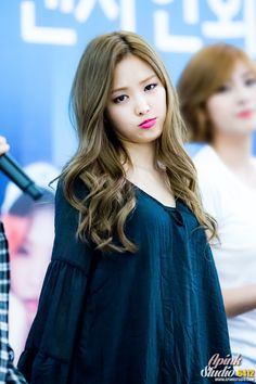 Naeun is really pretty, tbh
