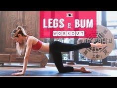 Lean Legs and Toned Bum Workout - Health and wellness: What comes naturally Leg Workout At Home, Bum Workout, Workout Men, Workout Routines, Fitness Tips, Health Fitness, Men Health, Muscle Fitness, Gain Muscle