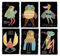 Some very cool creatures illustrated by Mark Hoffmann. Represented by i2i Art Inc. #i2iart